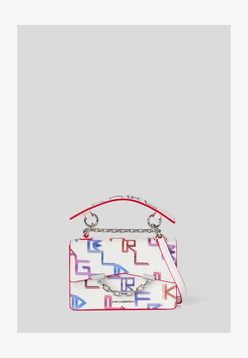 KARL LAGERFELD - SEVEN TETRIS - Handbag - white mult