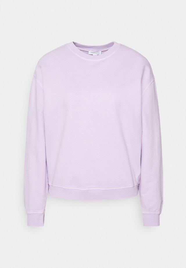 ACID WASH - Sweatshirt - lilac