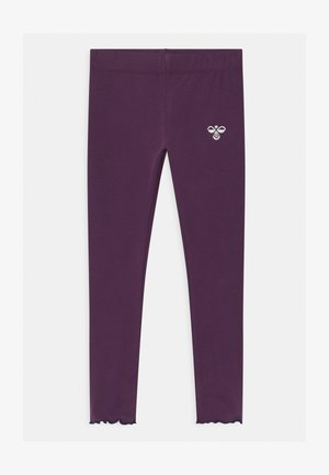AYAKA UNISEX - Leggings - blackberry wine