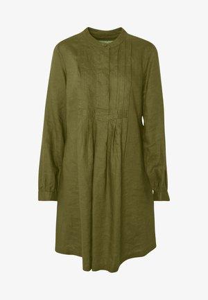 DRESS - Blusenkleid - khaki