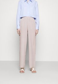 DKNY - Trousers - sunkiss bitter chocolate multi - 0
