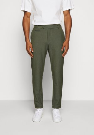 COMO SUIT PANTS SEASONAL - Trousers - deep forrest