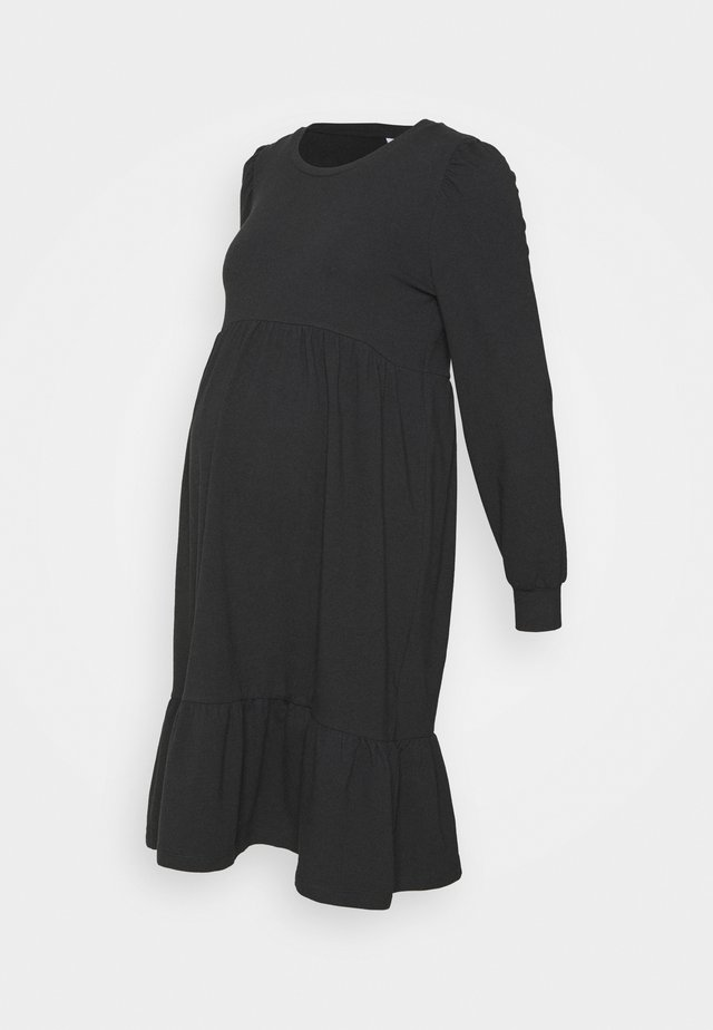 MLCARLY DRESS  - Jersey dress - black