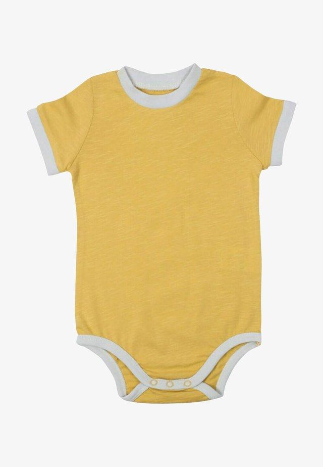 Body - mustard yellow