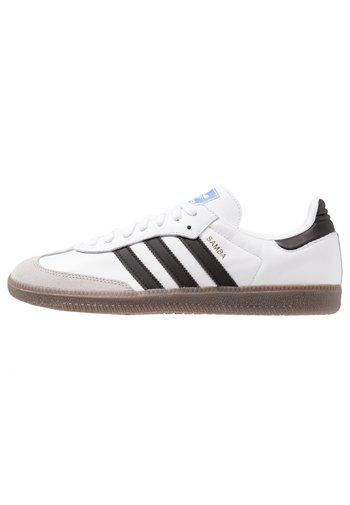 SAMBA - Matalavartiset tennarit - footwear white/core black/granit