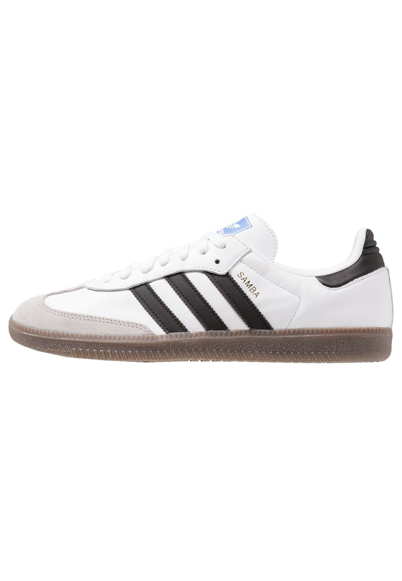 adidas Originals - SAMBA - Trainers - footwear white/core black/granit