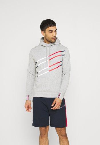GRAPHIC HOODY - Sweatshirt - grey