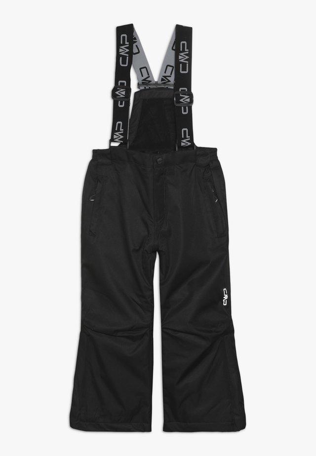 SALOPETTE UNISEX - Pantalon de ski - nero