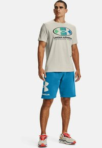 Under Armour - LOCKERTAG  - Print T-shirt - summit white - 1