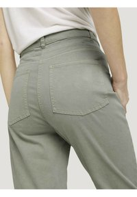 TOM TAILOR - Trousers - prairie grass green - 5