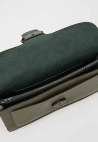 Coach - TABBY POLISHED SMALL FLAP BAG HANDBAG - Handbag - light fern - 3