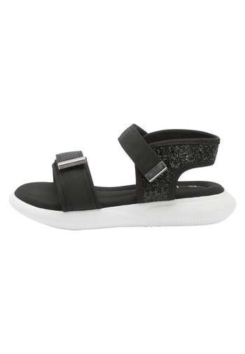 BLACK SPORTY SANDALS (OLDER)