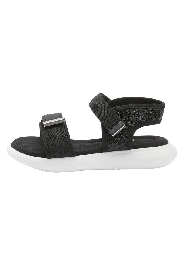 SPORTY - Chodecké sandály - black