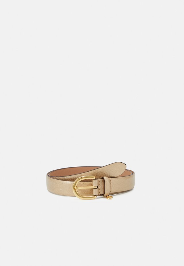 CHARM CASUAL - Belt - warm gold