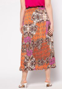 Ulla Popken - MIT 3 STUFEN - A-line skirt - multicolor - 1