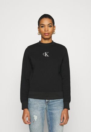 CUT OUT BACK  - Sweatshirt - black