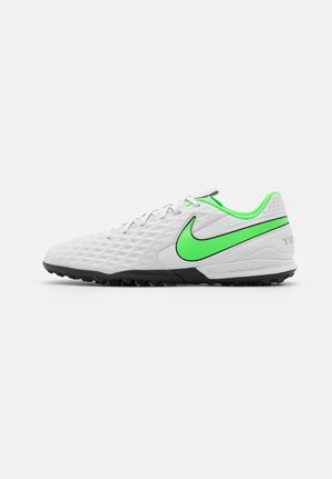 TIEMPO LEGEND 8 ACADEMY TF - Astro turf trainers - platinum tint/rage green