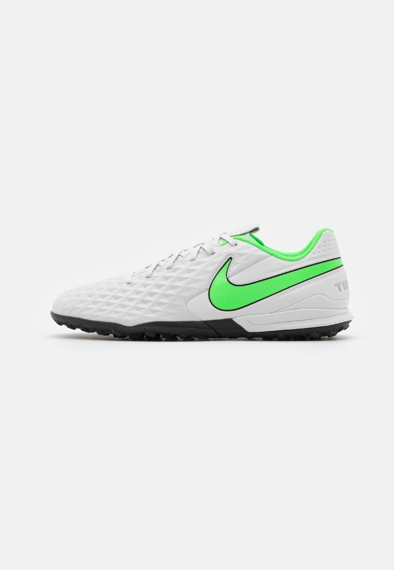 Nike Performance - TIEMPO LEGEND 8 ACADEMY TF - Astro turf trainers - platinum tint/rage green