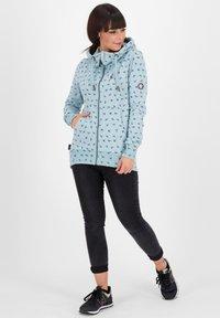 alife & kickin - Zip-up hoodie - light blue - 1