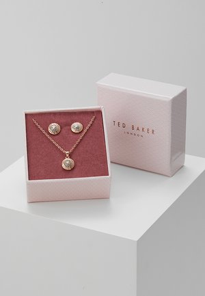 EMILLIA MINI BUTTON GIFT SET - Kolczyki - rose gold-coloured