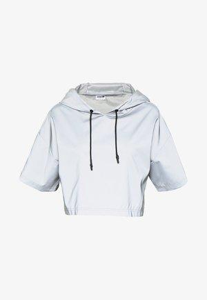 NMRANDY REFLEX TOP - T-shirt print - silver