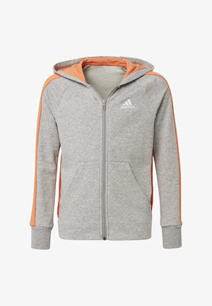 ATHLETICS CLUB  HOODIE - Felpa aperta - grey