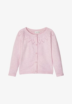 STRICKJACKE BAUMWOLL - Strikjakke /Cardigans - pink nectar