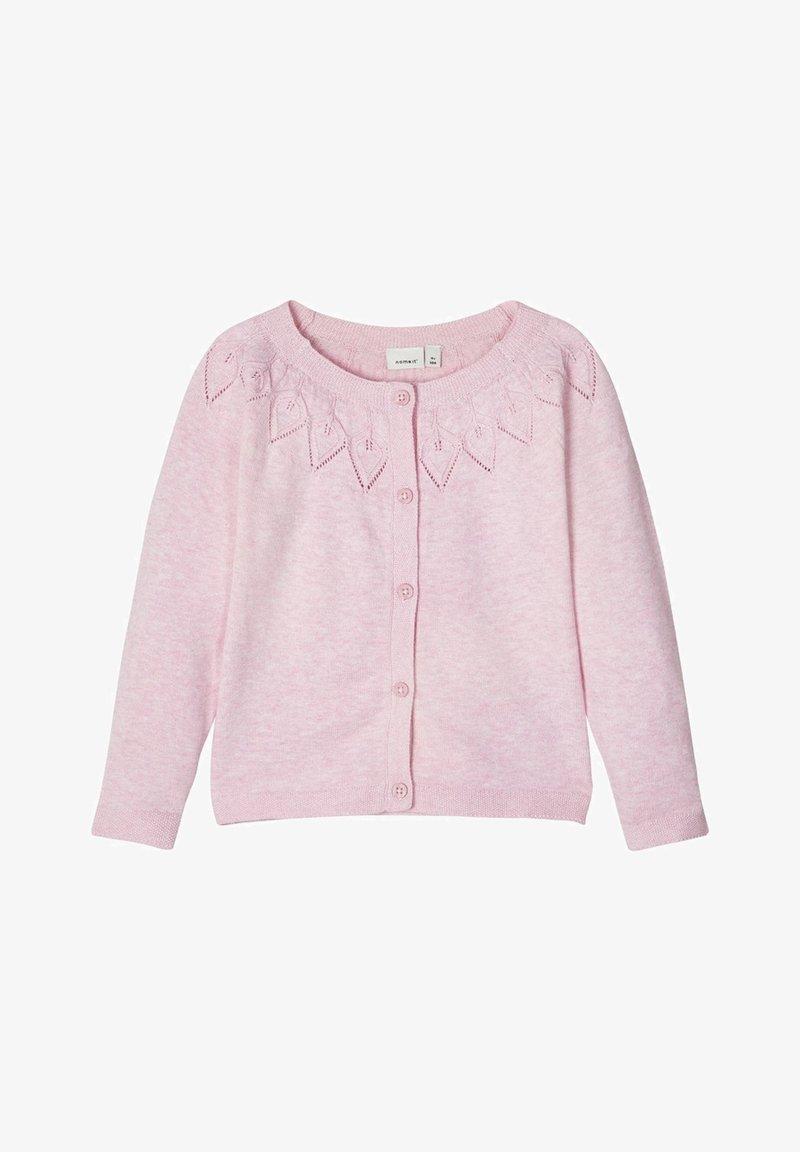 Name it - STRICKJACKE BAUMWOLL - Vest - pink nectar