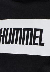 Hummel - 2-PACK - Print T-shirt - black/white - 8
