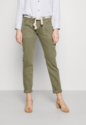 Slim fit jeans - light khaki