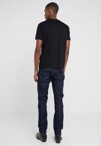 Emporio Armani - 2 PACK - T-shirt basic - black - 2