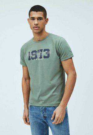 ANDRES - T-shirt con stampa - waldgrün
