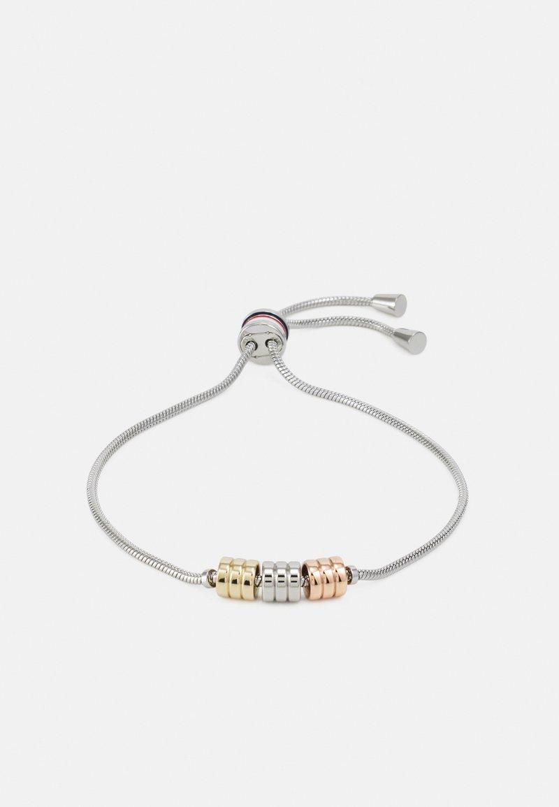 Tommy Hilfiger - TRIPLE LAYERED - Bracelet - silver-coloured