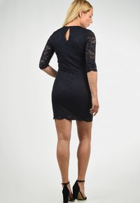 Vero Moda - EWELINA - Shift dress - dark blue - 2