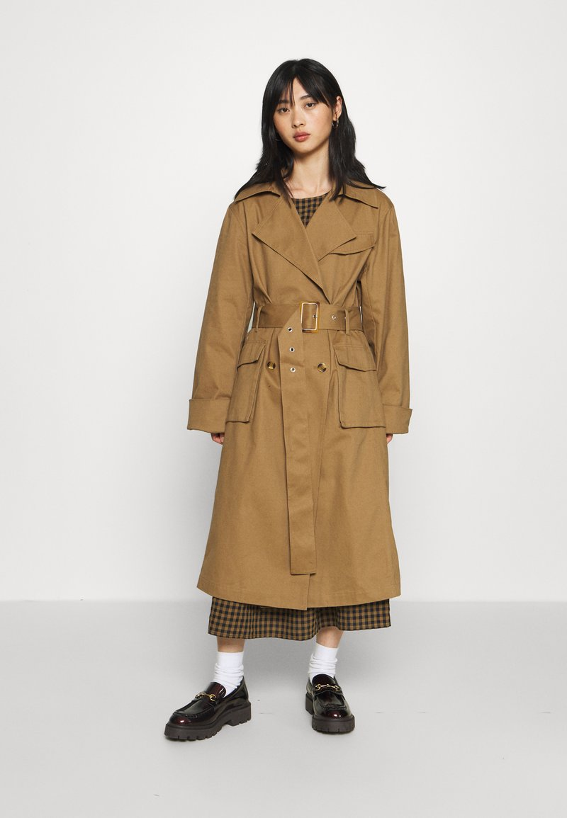 Gina Tricot Petite - MIMMI - Trenchcoat - brown