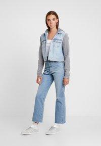 Hollister Co. - TWOFER JACKET - Denim jacket - blue denim - 1