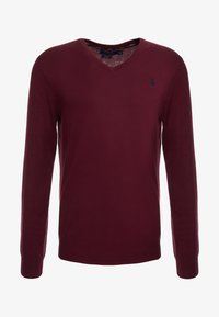 Polo Ralph Lauren - LONG SLEEVE - Sweter - classic wine heather - 3
