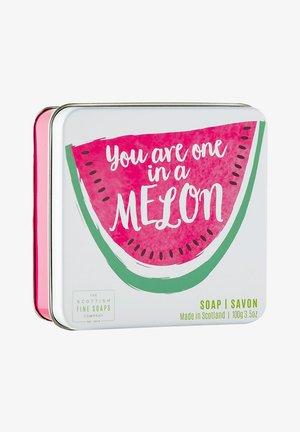 MELON SOAP IN A TIN 100 G - Soap bar - -