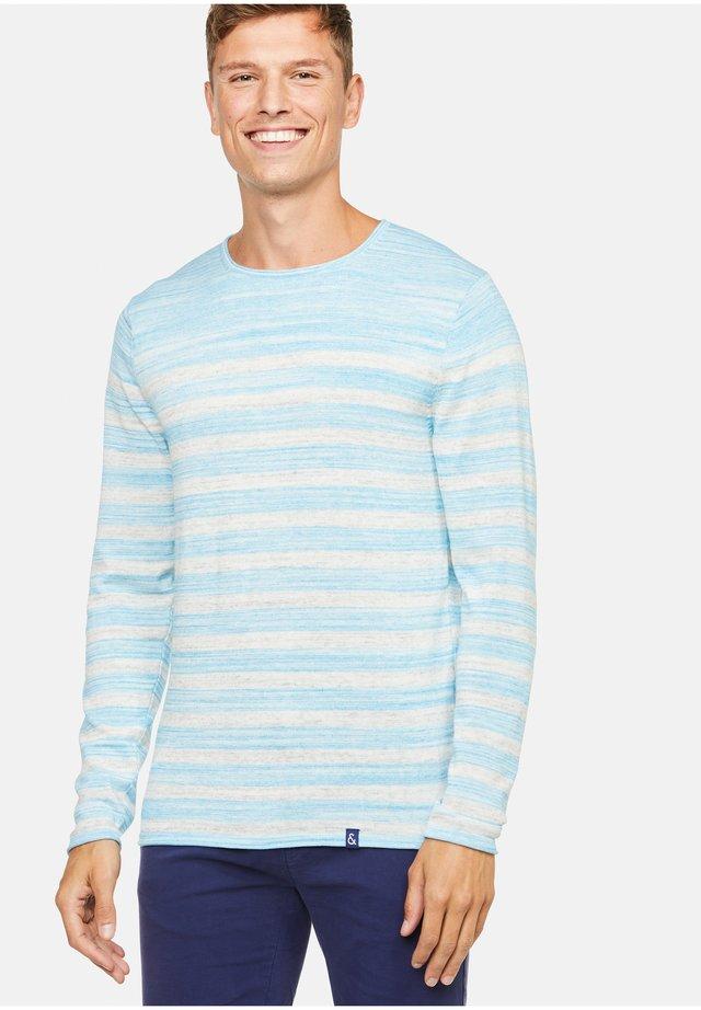 CHRIS - Pullover - blau