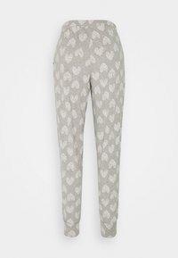 Hunkemöller - PANT HEART - Pyjama bottoms - grey melee - 1