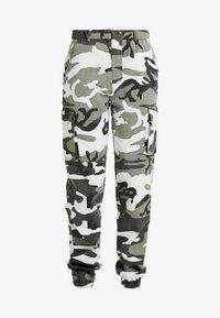 Missguided Tall - CAMO CARGO TROUSERS - Pantalon classique - grey - 3