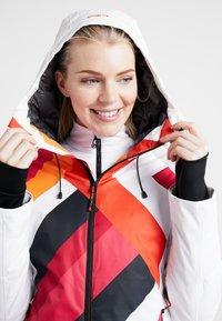 CMP - WOMAN JACKET FIX HOOD - Skijakke - bianco - 6