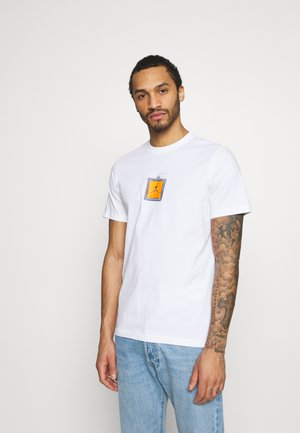 KEYCHAIN CREW - Print T-shirt - white