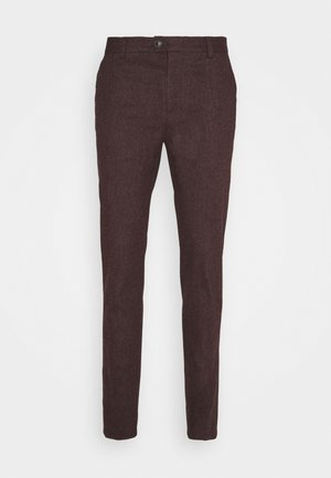MOTT CLASSIC IN BRUSHED YARN DYED QUALITY - Chinos - bordeaux