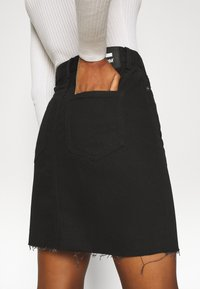Dr.Denim Tall - MALLORY - Denim skirt - black - 5