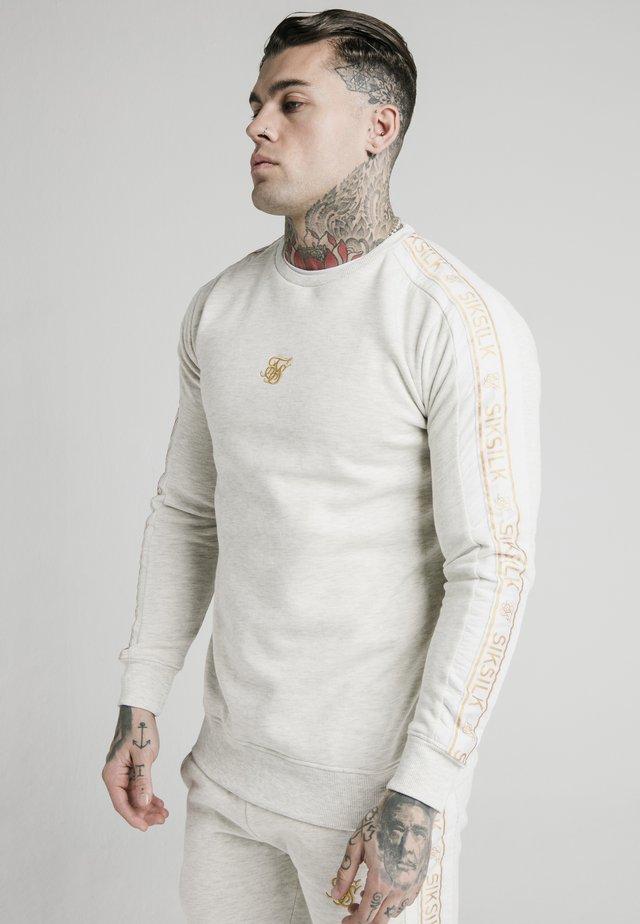 TAPE CREW - Sweatshirt - snow marl