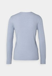 More & More - 1/1 SLEEVE - Trui - cloudy blue - 1