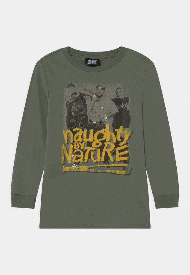 LONG SLEEVE - Langærmede T-shirts - swag green