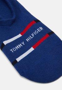 Tommy Hilfiger - MEN FOOTIE BRETON STRIPE 2 PACK - Calzini - blue depths - 1
