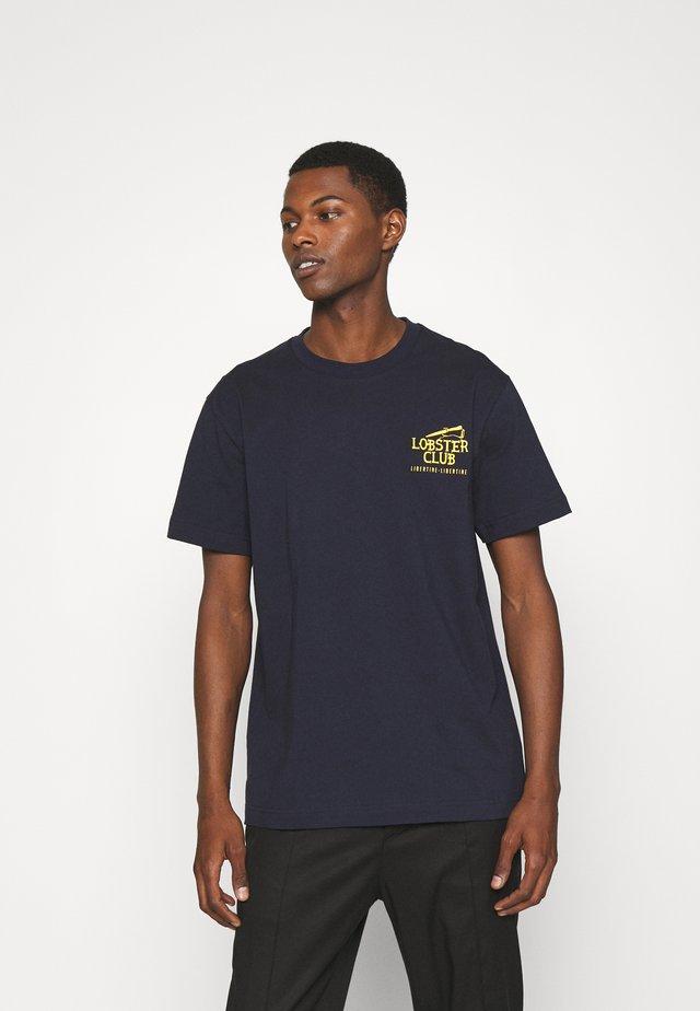 BEAT LOBSTER CLUB - T-shirt imprimé - dark navy
